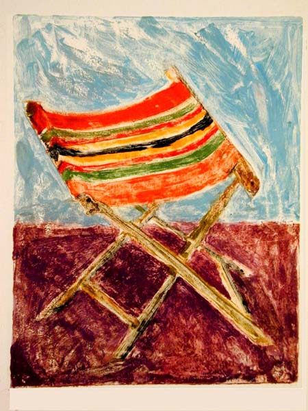 Mary Gibney Household Objects Monoprints